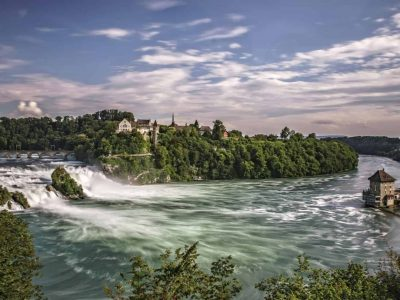 Private tour to Rhine Falls Top View