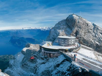 Private Tour to Pilatus Top View