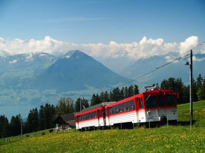 Private Tour to Mt. Rigi Cog wheel train